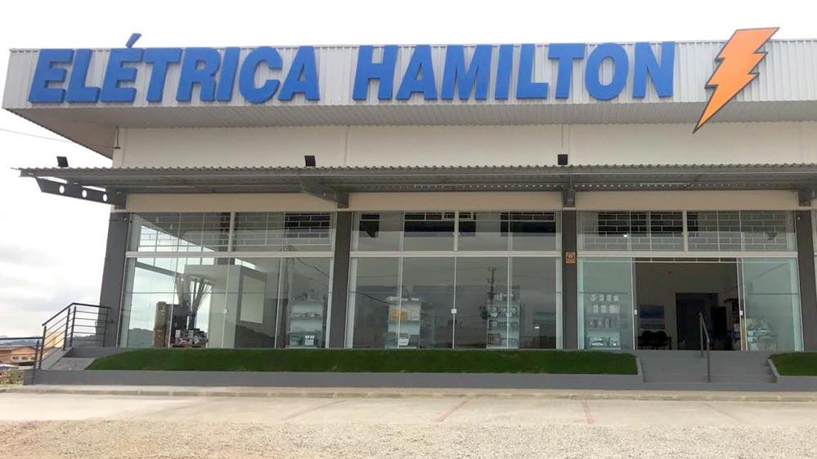Fachada da Loja Elétrica Hamilton